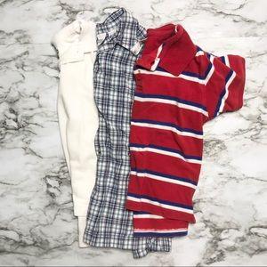 🎉Bundle little boy polo tops